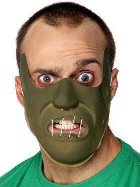 Restraint Horror Mask Pvc