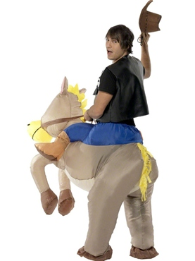 Adult Ride 'Em Cowboy Costume - Side View