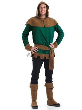 Adult Robin Hood Costume - Back View