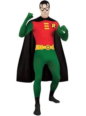 Adult Robin Second Skin Costume