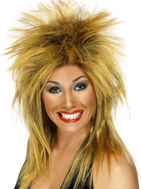 Rock Diva Wig Ginger And Black