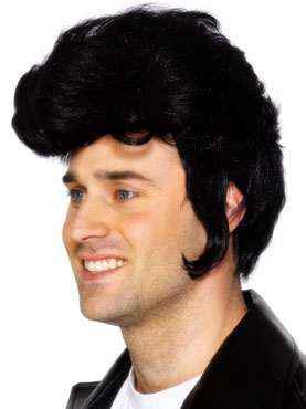 Rock Star Wig Black