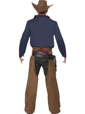 Adult Rodeo Cowboy Costume - Side View