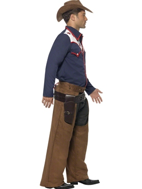 Adult Rodeo Cowboy Costume - Back View