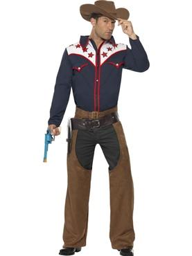 Adult Rodeo Cowboy Costume Thumbnail