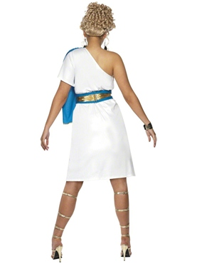 Adult Roman Beauty Costume - Back View