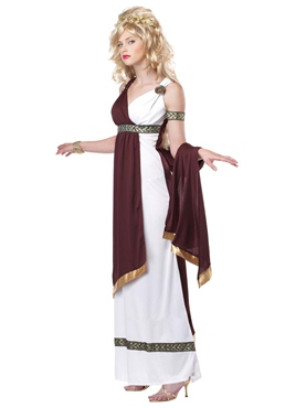 Roman Empress Costume - Side View