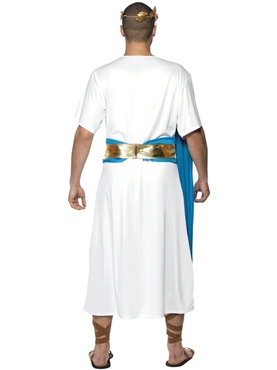 Adult Roman Senator Costume - Back View