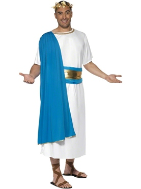 Adult Roman Senator Costume Couples Costume