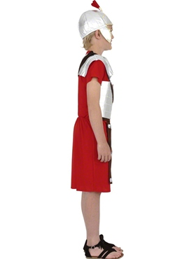 Child Roman Soldier Childrens Costume - Back View