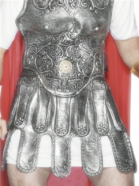 Roman Soldiers Skirt Armour Silver