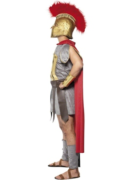 Adult Roman Warrior Deluxe Costume - Side View