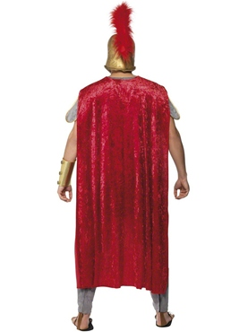 Adult Roman Warrior Deluxe Costume - Back View