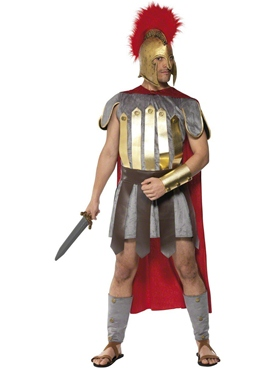 Adult Roman Warrior Deluxe Costume
