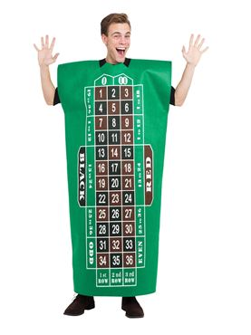 Roulette Table Costume Couples Costume