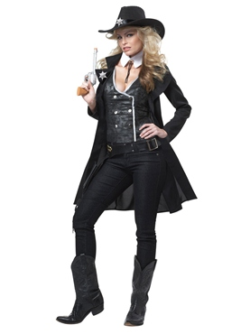 Adult Round'em Up Cowgirl Costume