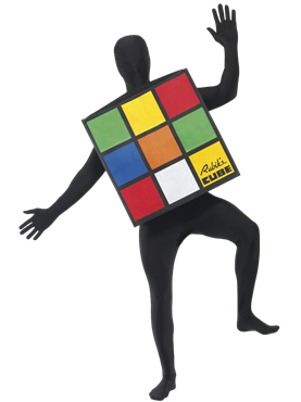 Adult Rubik's Cube Costume Couples Costume