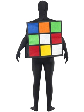 Adult Rubik's Cube Costume - Side View
