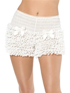 Ruffled Pantaloons White