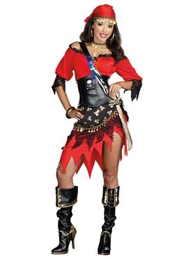 Adult Rum Punch Pirate Costume