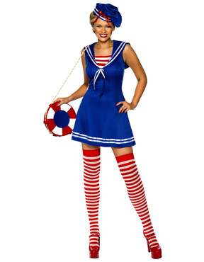 Adult Sailor Cutie Costume