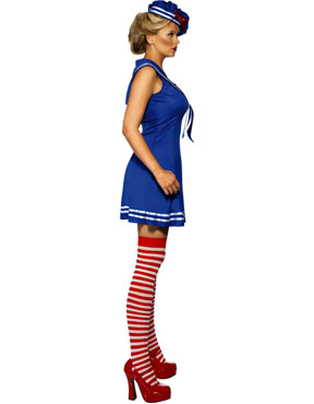 Adult Sailor Cutie Costume - Side View