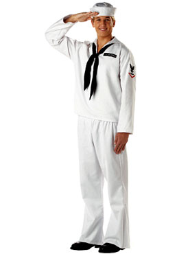 Adult Sailor White Costume