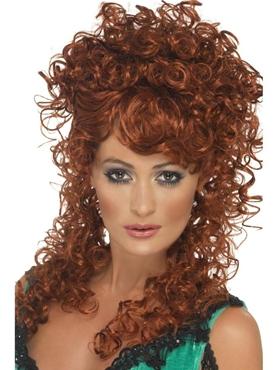 Saloon Girl Auburn Wig