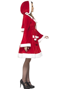 Adult Santa in the City Costume - Back View