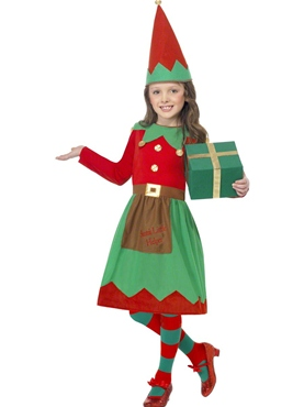 Child Santau0027s Little Helper Elf Costume  sc 1 st  Fancy Dress Ball & Child Santau0027s Little Helper Elf Costume - 39104 - Fancy Dress Ball