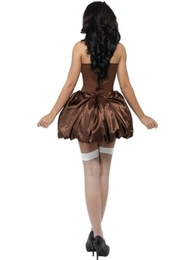 Adult Saucy Pud Costume - Side View