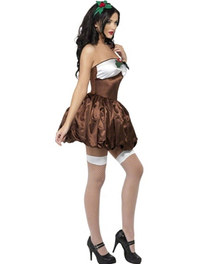 Adult Saucy Pud Costume - Back View