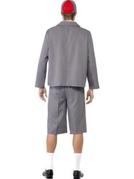 Adult School Boy Costume - Side View