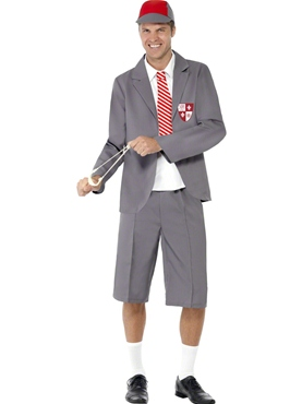Adult School Boy Costume