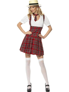 Adult School Girl Costume