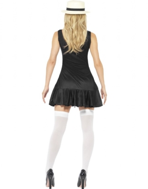 Adult School Girl Costume - Side View