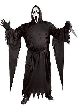 Adult Scream Stalker Ghost Face Costume