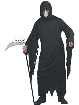 Adult Screamer Costume Black
