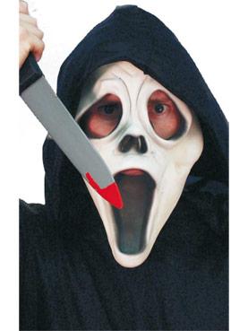 Plastic Screamer Knife - Back View