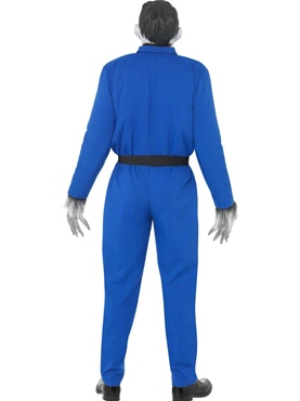 Adult Odd Bod Carry on Screaming Monster Costume - Side View