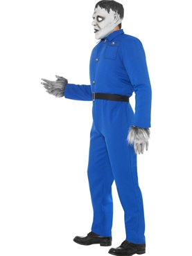 Adult Odd Bod Carry on Screaming Monster Costume - Back View