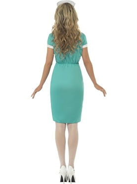 Adult Scrub Nurse Costume - Side View