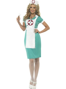 Adult Scrub Nurse Costume