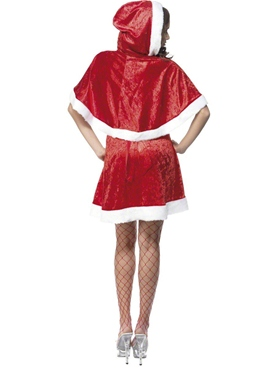 Adult Secret Santa Costume - Side View