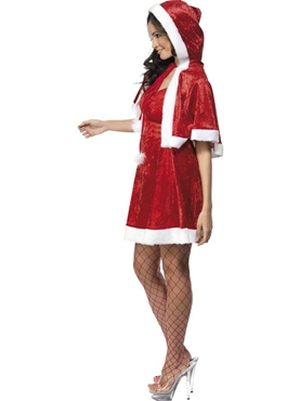 Adult Secret Santa Costume - Back View