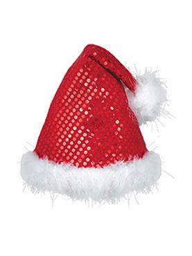 Sequinned Santa Hat