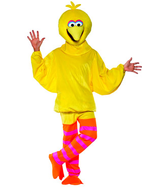 Adult Sesame Street Big Bird Costume