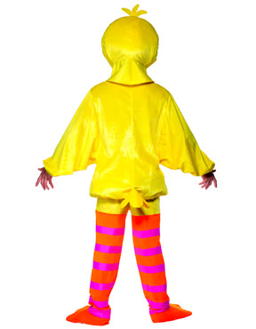Adult Sesame Street Big Bird Costume - Back View