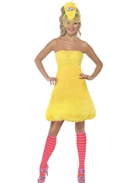 Sesame Street Big Bird Ladies Costume