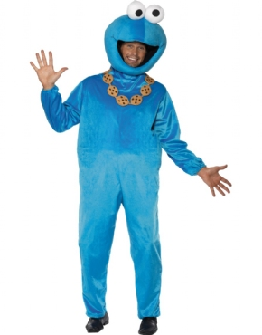 Adult Sesame Street Cookie Monster Costume